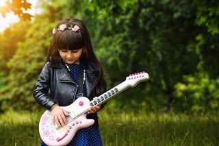 Elektrische gitaar kind