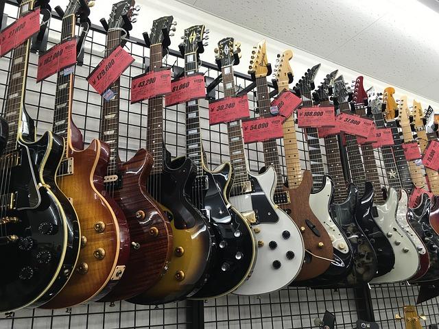 Elektrische gitaar kopen
