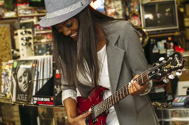 elektrische gitaar leren spelen